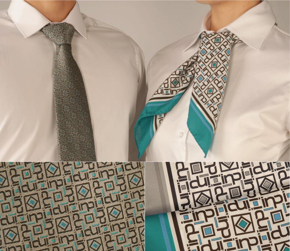 Projet cravates et foulards NPI